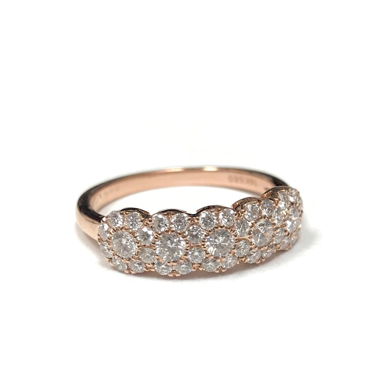 Hurdle's Jewelry Collection Diamond Halo Cluster Ring