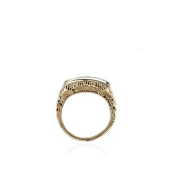 Three Stone Vintage Ring