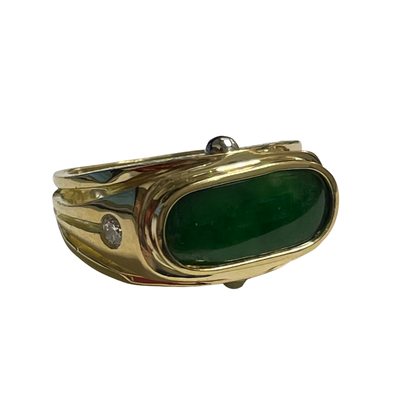 Antique, Estate & Consignment Jade Ring by Richard Kimball