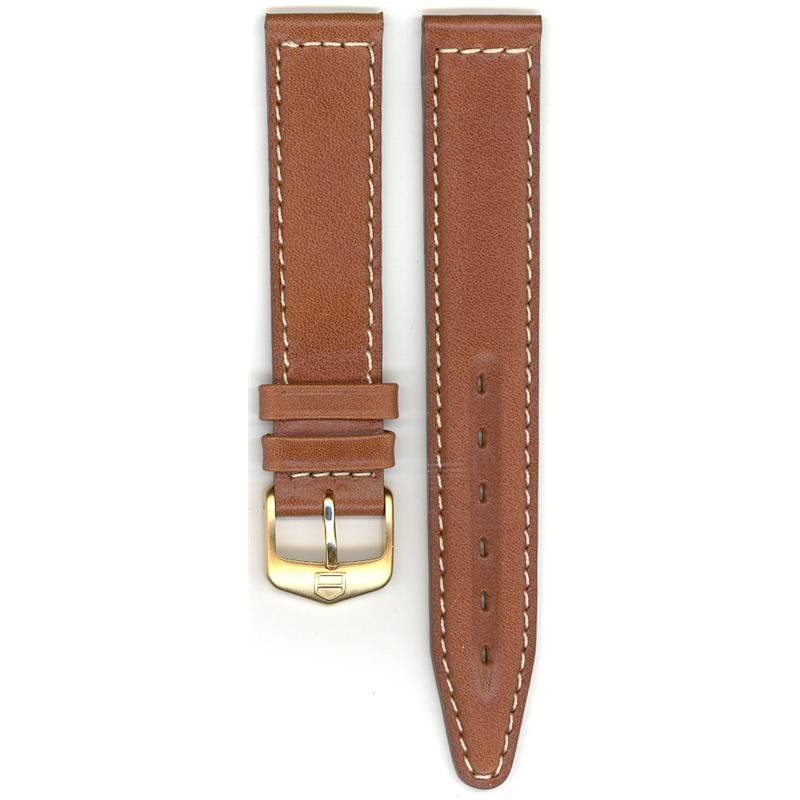 TAG Heuer 17mm Brown Leather TAG Strap