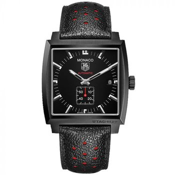 Automatic Monaco Black Steel