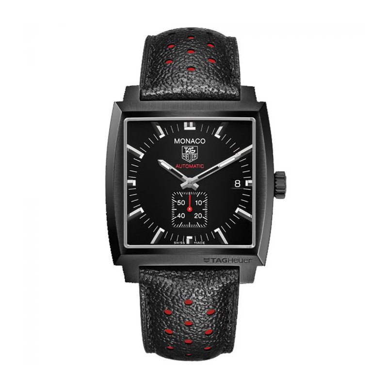 TAG Heuer Automatic Monaco Black Steel