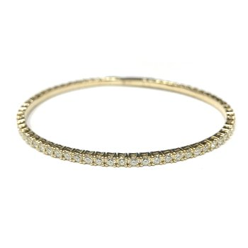2.50 Carat Flexible Diamond Tennis Bracelet