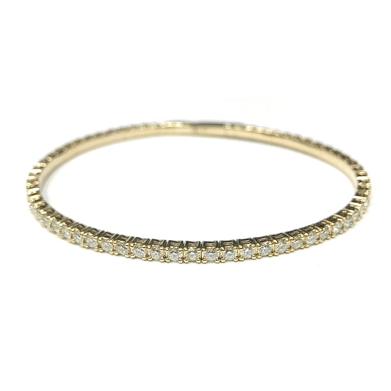 IDD Jewelry 2.50 Carat Flexible Diamond Tennis Bracelet