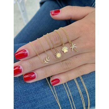 Diamond Paw Necklace