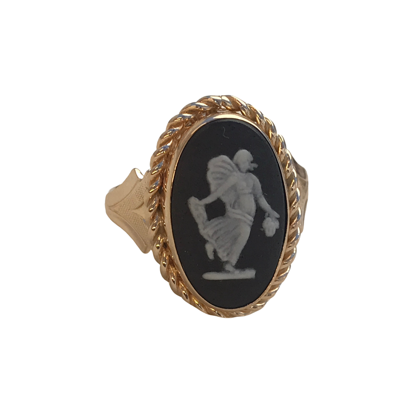 Antique, Estate & Consignment Onyx Cameo Ring