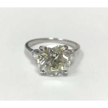 4.44 Carat Diamond Engagement Ring