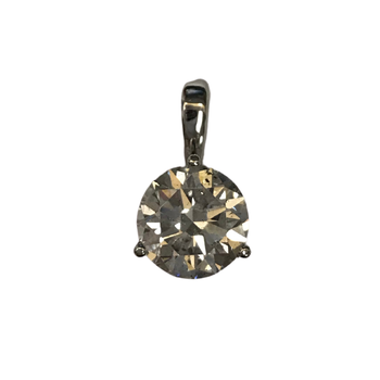 2.74 Carat Diamond Pendant