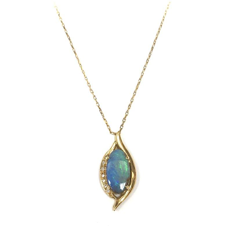 Antique, Estate & Consignment Boulder Opal Pendant