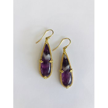 Brazilian Amethyst Earrings