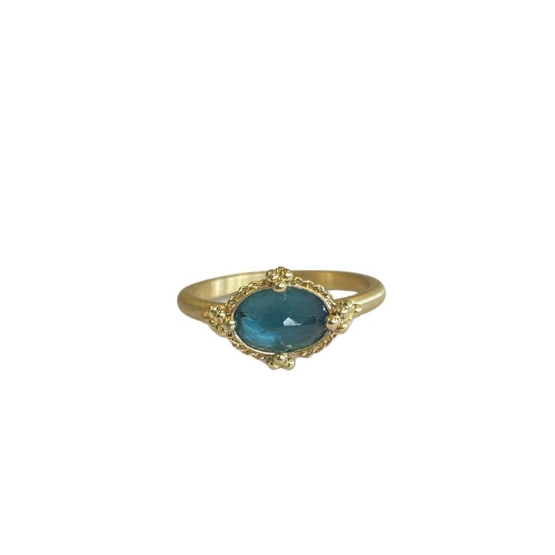 Amali One of a Kind Aqua Ring