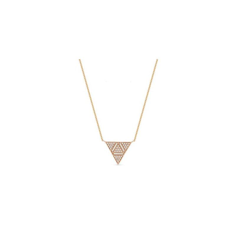Madison L Diamond Triangle Necklace