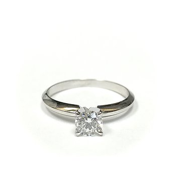 Round Diamond Solitaire Engagement Ring - 0.45 carats