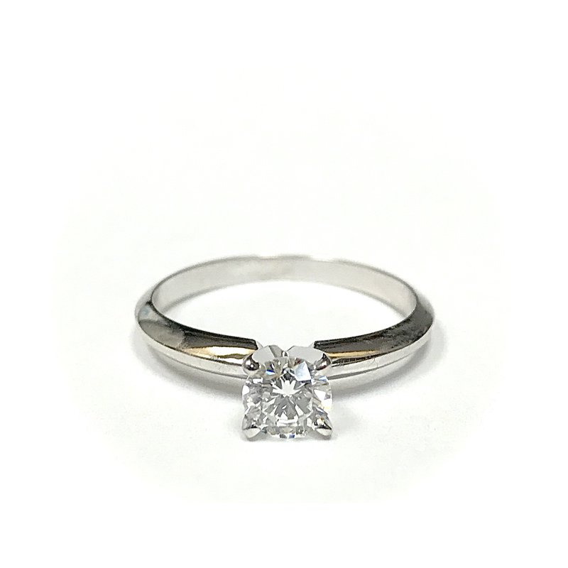 Hurdle's Jewelry Collection Round Diamond Solitaire Engagement Ring - 0.45 carats