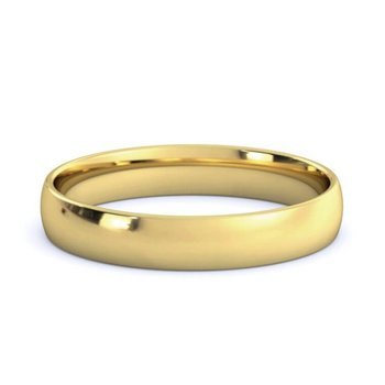 18k Yellow Gold 3.5mm Band