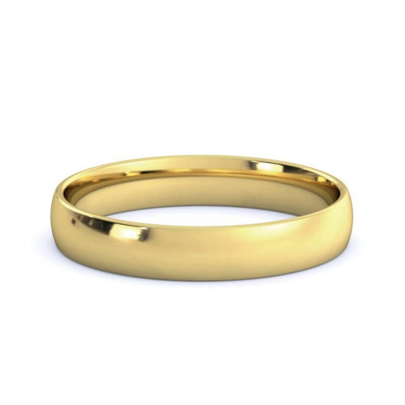 Guertin 18k Yellow Gold 3.5mm Band