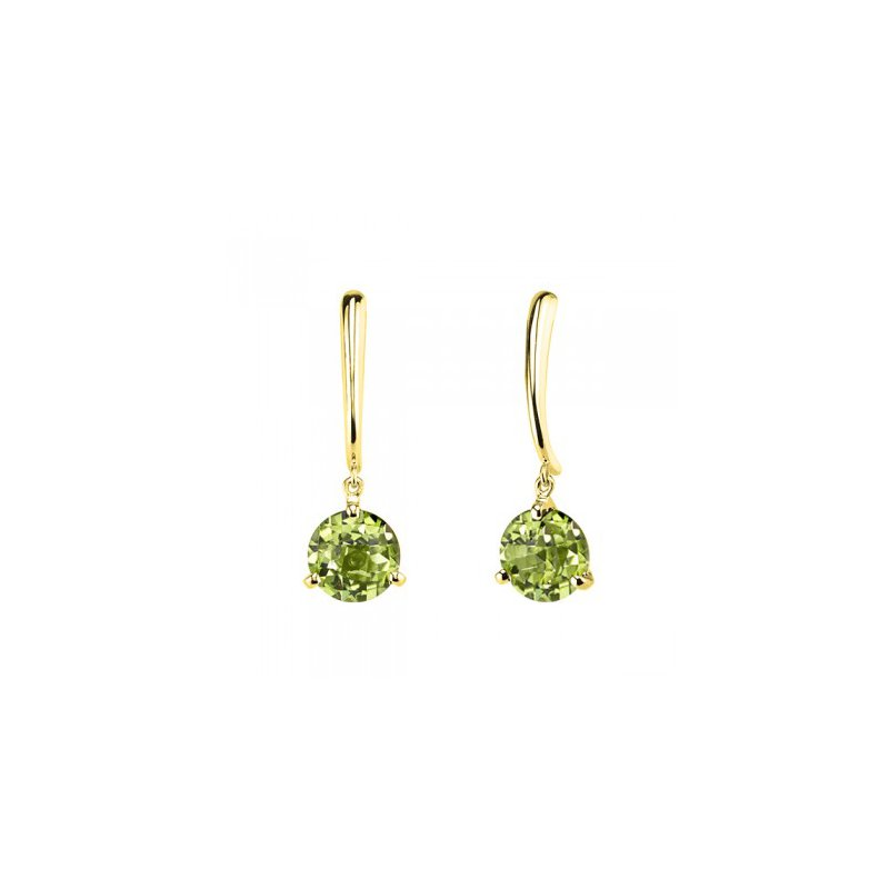 Stanton Color Peridot Dangle Earrings
