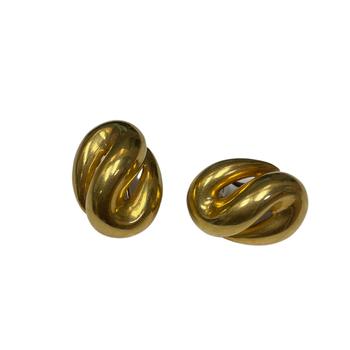 Gold S Earrings