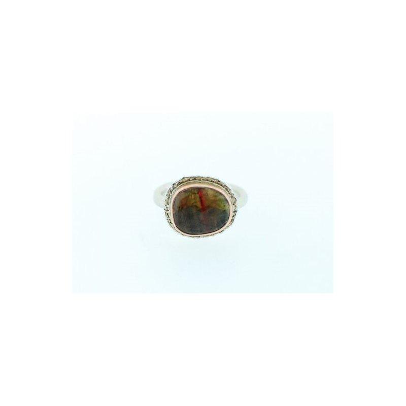 Jamie Joseph Watermelon Tourmaline Ring