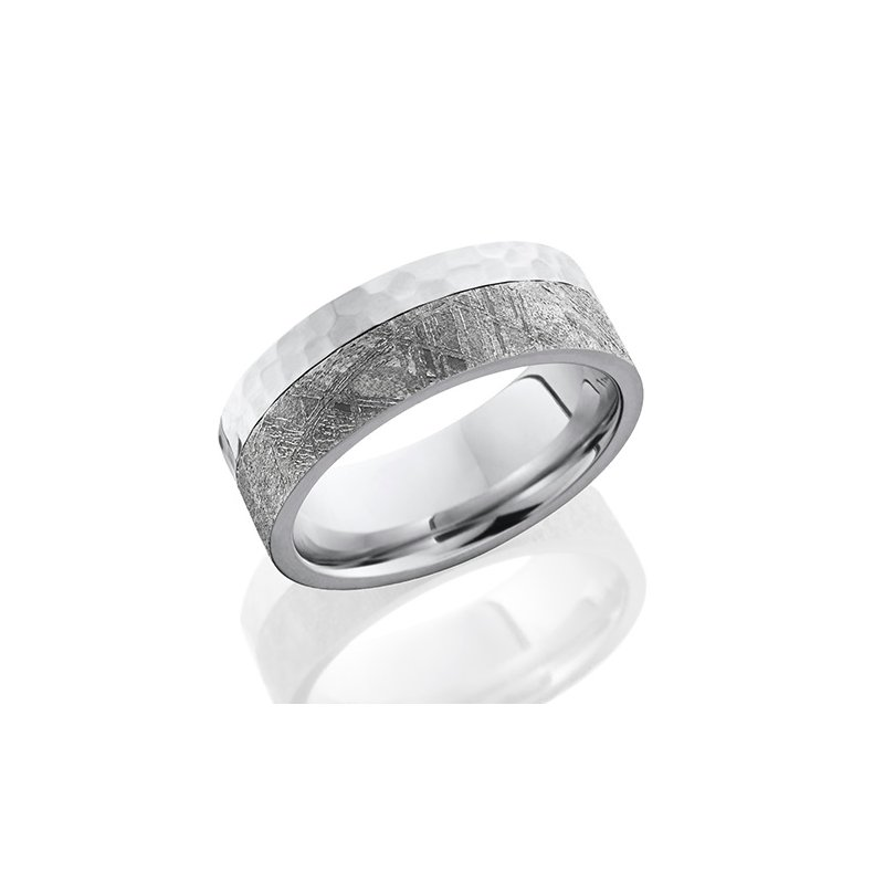 Lashbrook Cobalt Chrome & Meteorite Band