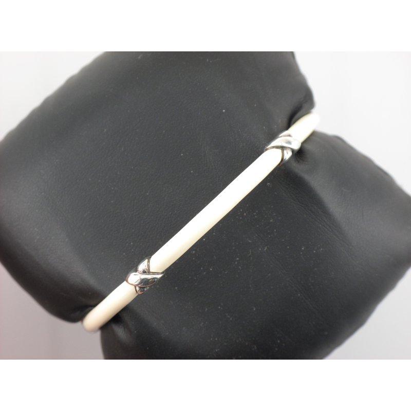 Antique, Estate & Consignment Tiffany & Co. Signature X Enamel Bracelet