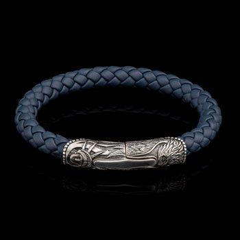 Blue Ridge Leather Bracelet