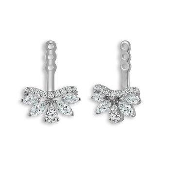 Diamond Fan Earring Jackets