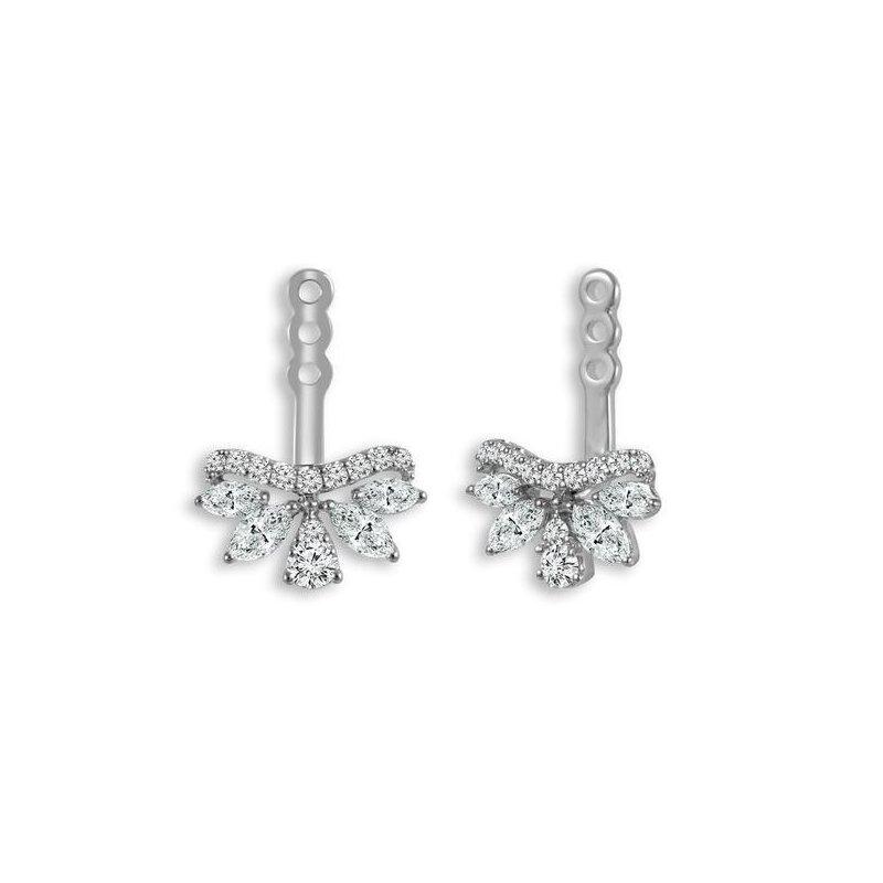 IDD Jewelry Diamond Fan Earring Jackets