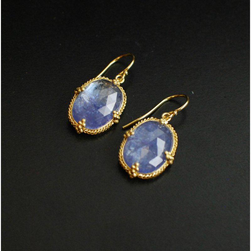 Amali Tanzanite Earrings