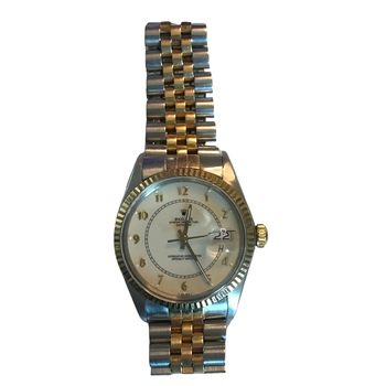 Rolex Oyster Perpetual Datejust Two Tone