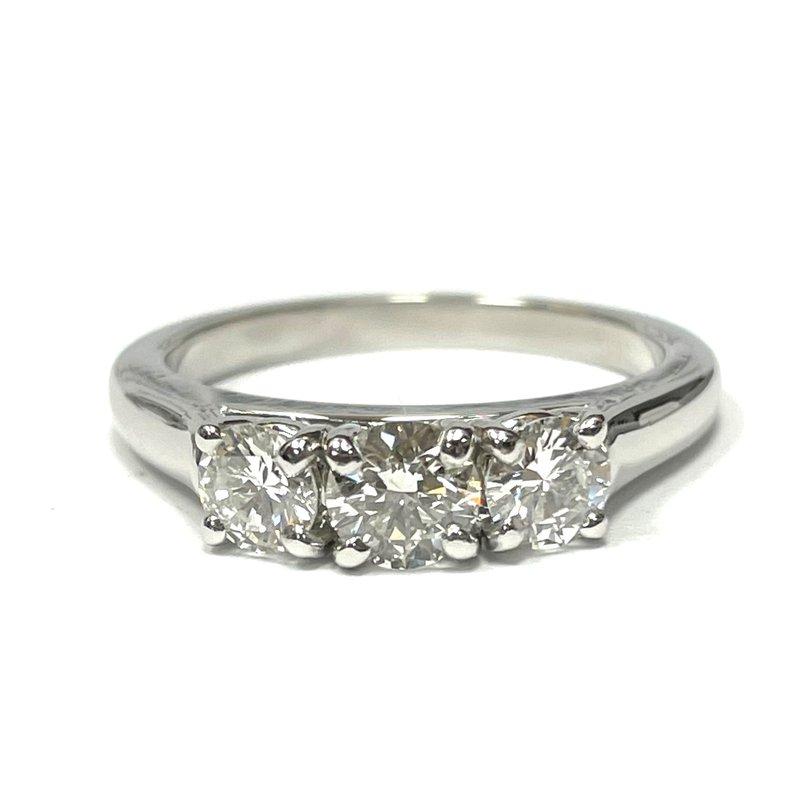 Antique, Estate & Consignment Platinum Three Stone Ring