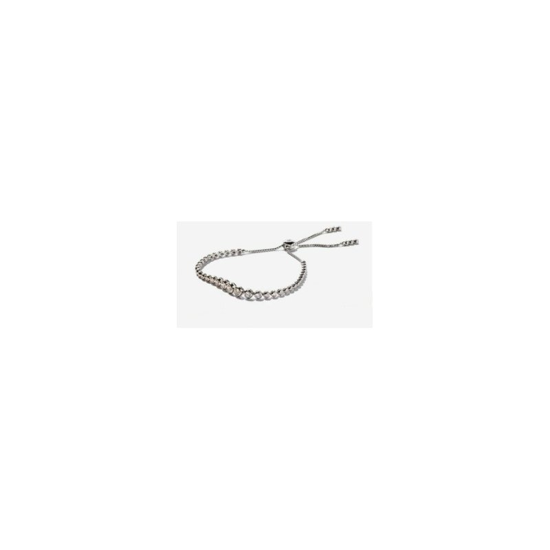 Hurdle's Jewelry Collection 14k White Gold Adjustable Choker Diamond Necklace