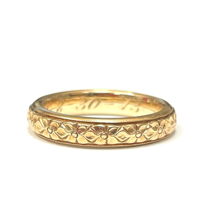 Antique, Estate & Consignment 14k Engraved Band