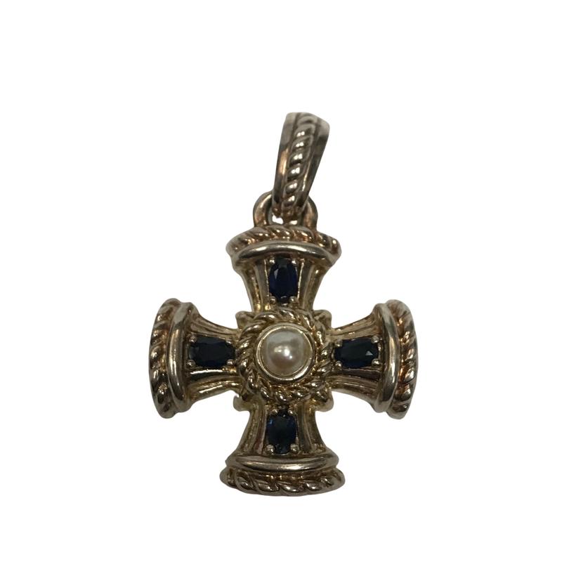 Antique, Estate & Consignment Judith Ripka Cross Pendant