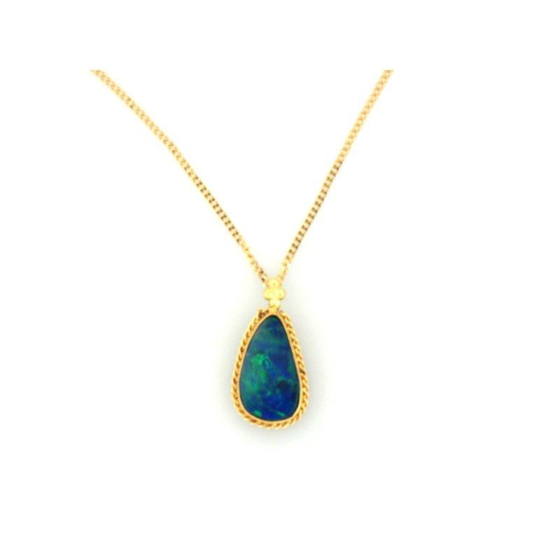 Amali One of a Kind Opal Necklace