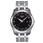 Tissot Couturier with Black Dial