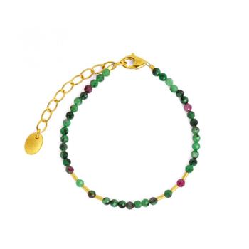 Cletra Ruby-Zoisite Bracelet