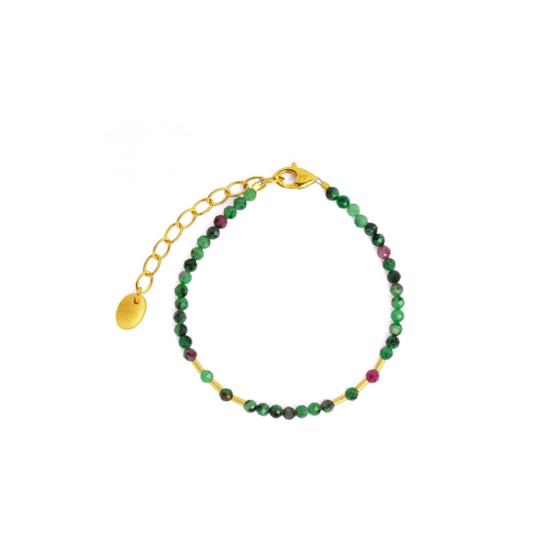 Bernd Wolf Cletra Ruby-Zoisite Bracelet