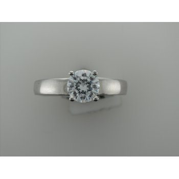 Platinum Solitaire Mounting