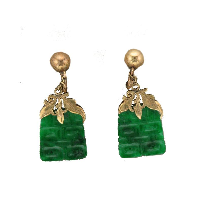 Antique, Estate & Consignment Jade Earrings