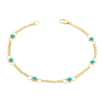 Whisper Chain Bracelet in Turquoise