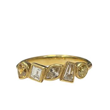 Reverie Fancy Diamond Ring