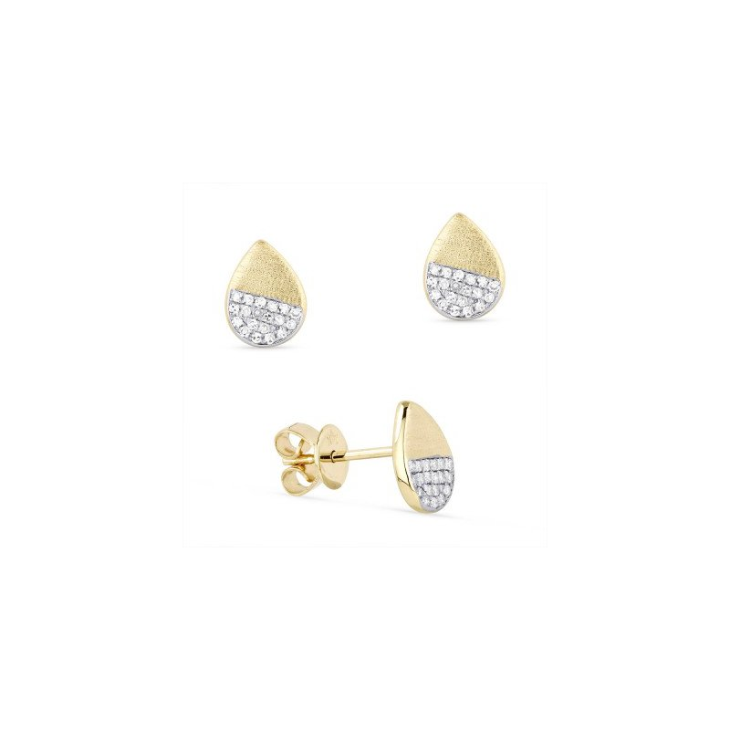 Madison L Pear Shape Diamond Cluster Earrings