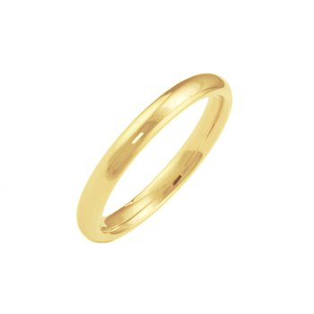 18k Yellow Gold 2mm Band