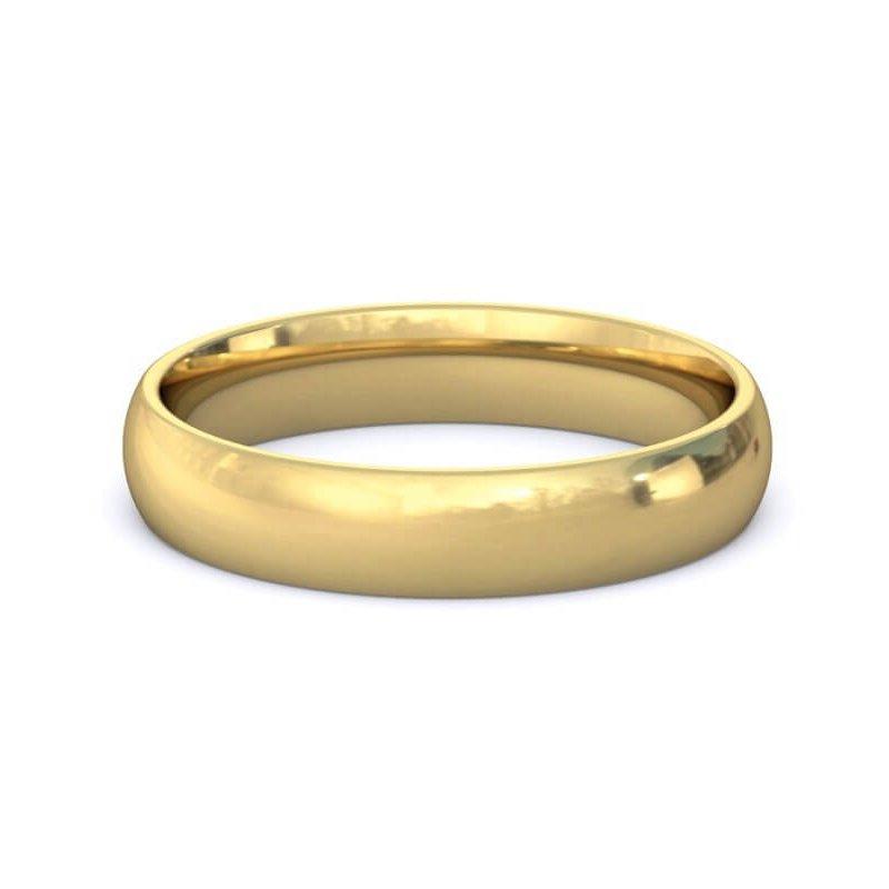 Guertin 14k Yellow Gold 4mm Band