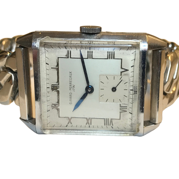 Steel Girard Perregaux Watch