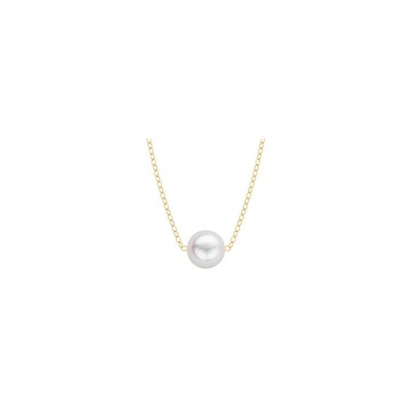 Hurdle's Jewelry Collection Add-A-Pearl Starter Necklace - 7mm