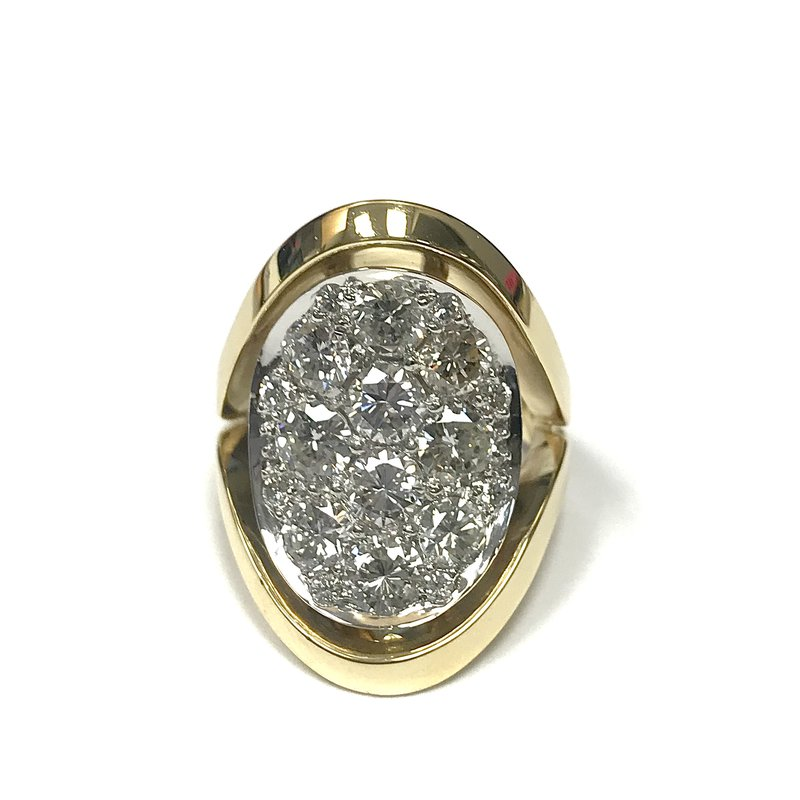 Antique, Estate & Consignment Diamond Saddle Ring
