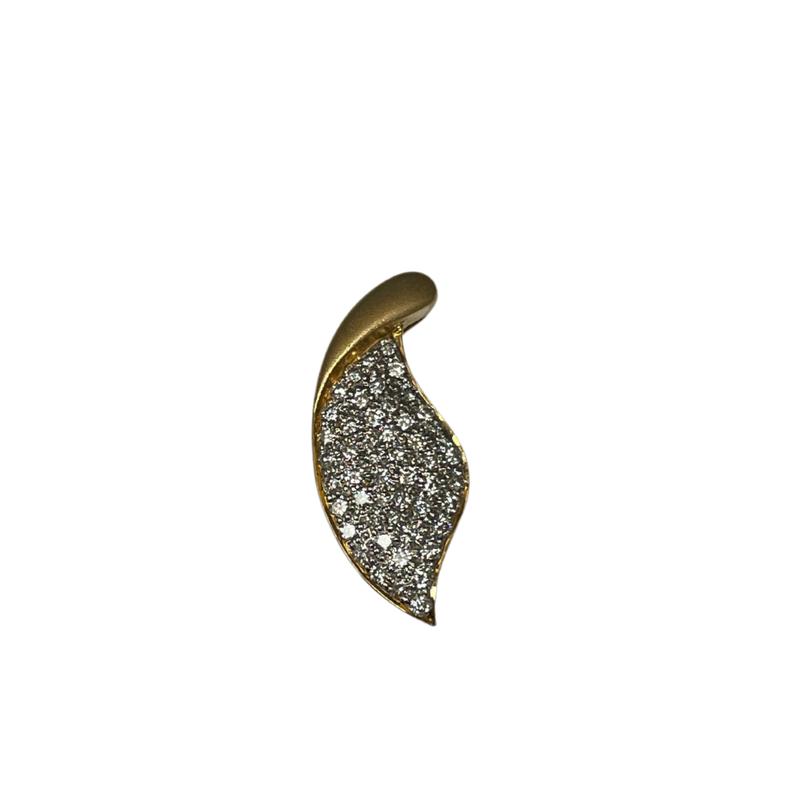 Antique, Estate & Consignment Diamond Leaf Pendant