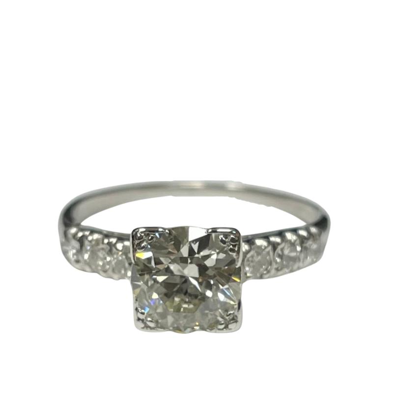Antique, Estate & Consignment European Cut Diamond Engagement Ring